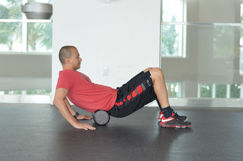 Lower Back Foam Roll Exercise