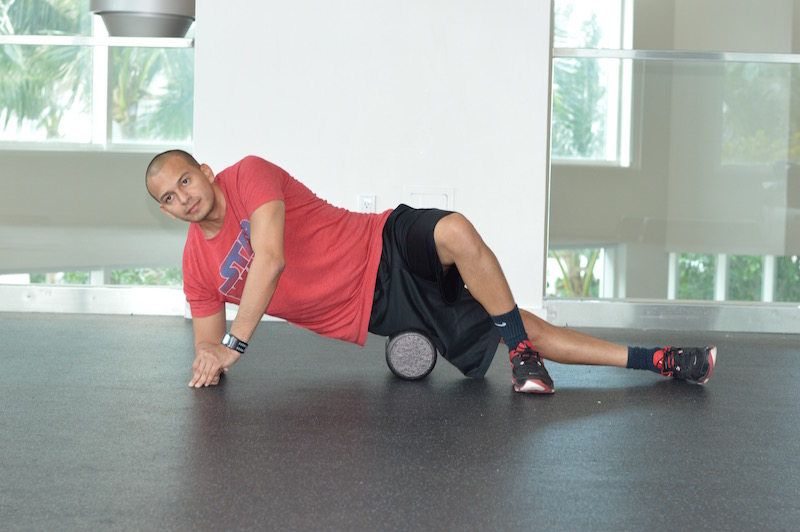IT Band Foam Roll Exercise