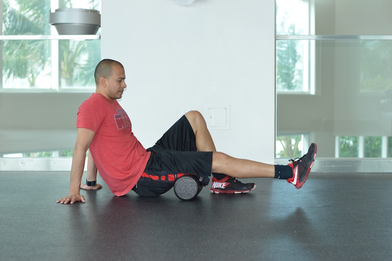 Hammy Foam Roll Exercise