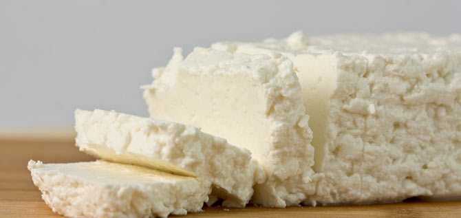 slices of cottage cheese