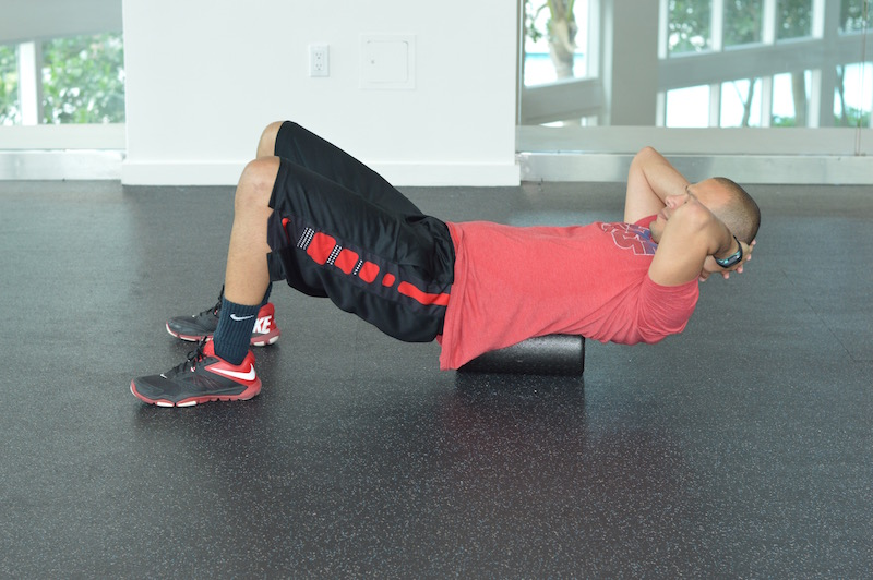 Shoulder Foam Roll Routine