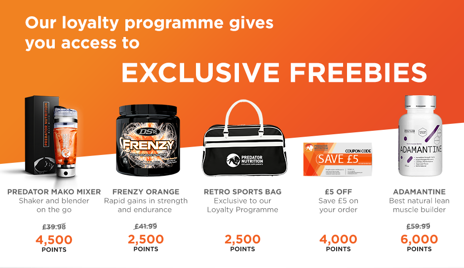 Loyalty Programme Exclusive Freebies