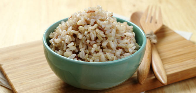 bowl of delicious Brown Rice