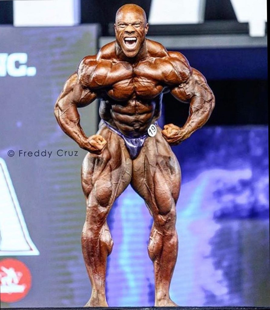 Phil Heath 2018 Mr Olympia 2nd place