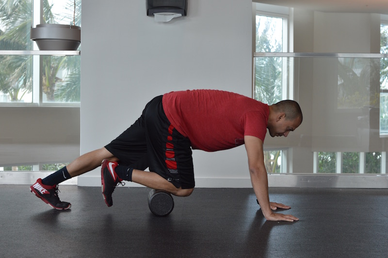 Shin Foam Roll Exercise