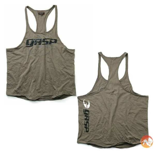 Image of GASP Clothing Deep Cut Tank -XL-