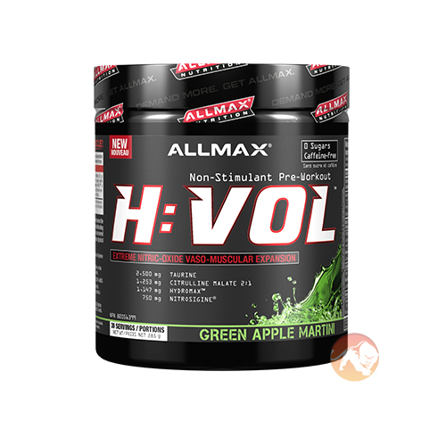 Allmax Nutrition Hemanovol 30 Servings Green Apple Martini