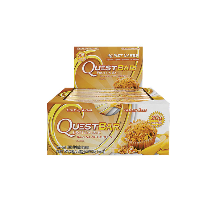Image of Quest Nutrition Quest Bars 12 Banana Nut Muffin