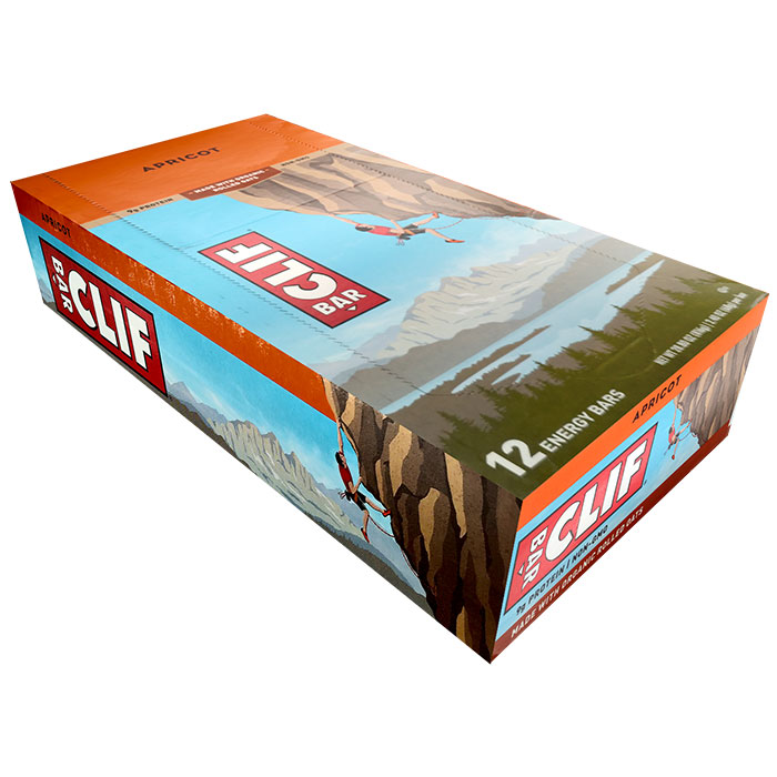 Image of Clif Bar Clif Bar 12 Bars Apricot