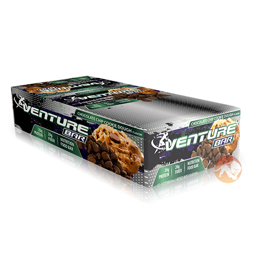 Venture Bars 12 Bars Chocolate Cookie Dough