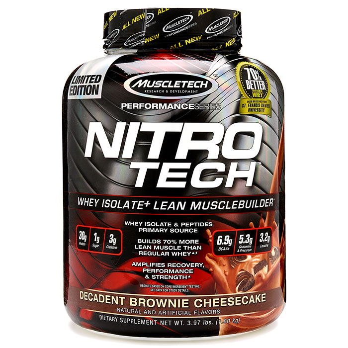 Nitro-Tech Performance Series Decadent Brownie Cheesecake 1.8kg