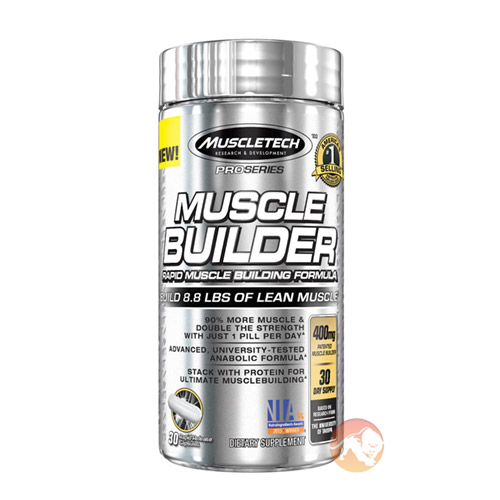 Image of Muscletech Muscle Builder 30 Capsules