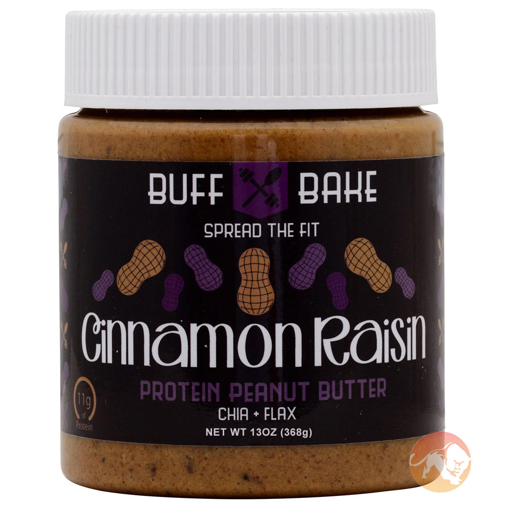 Image of Buff Bake Cinnamon Raisin Peanut Butter 13oz/368g