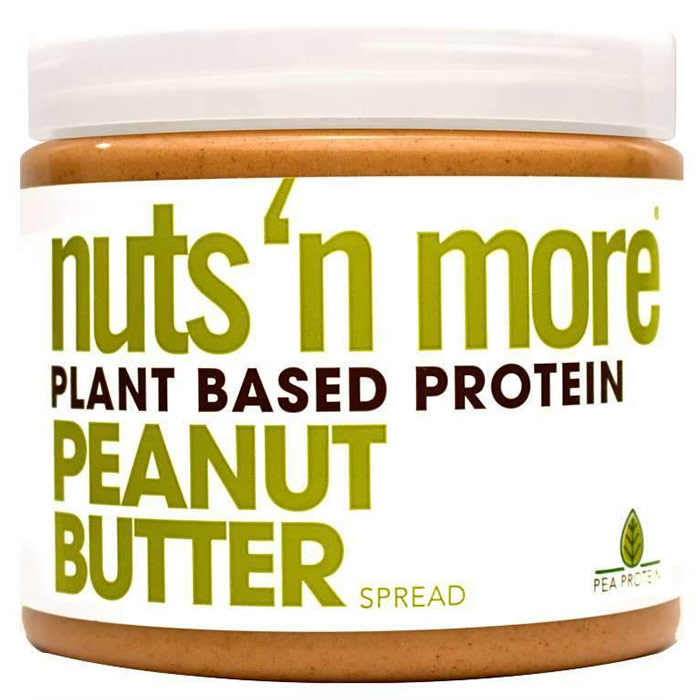 Image of Nuts n More Nuts n More Peanut Butter 454g Plant Based Protein
