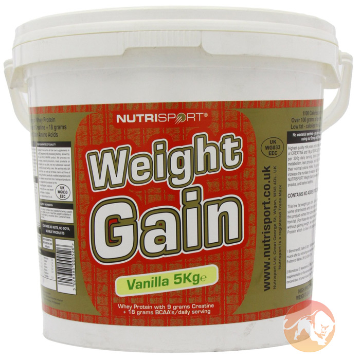 Image of Nutrisport Weight Gain 1.4kg Chocolate