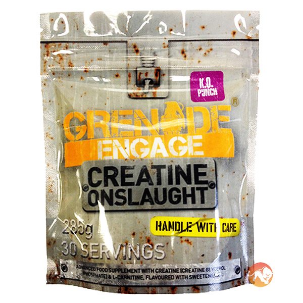 Grenade Engage 285g 30 Servings-Raspberry Reload