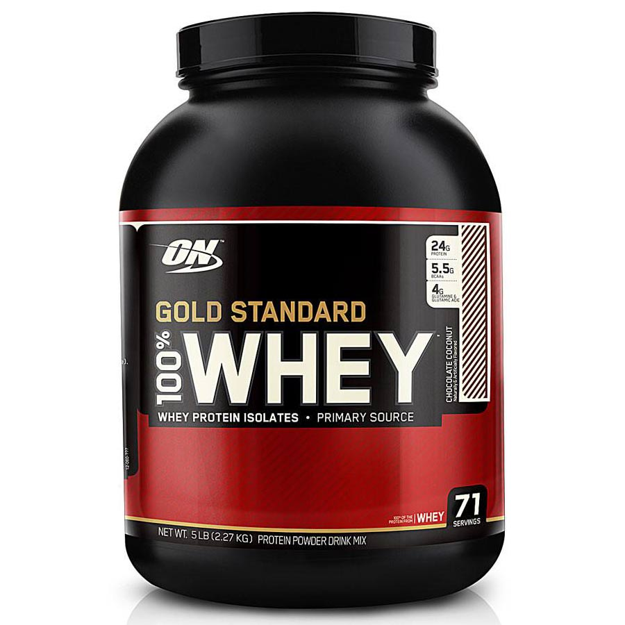 Gold Standard 100% Whey 5lb Chocolate Coconut