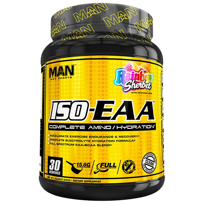 ISO-EAA 30 Servings Rainbow Sherbet