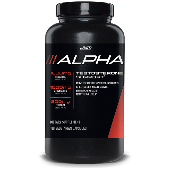 Image of JYM Supplement Science Alpha JYM 180 Caps