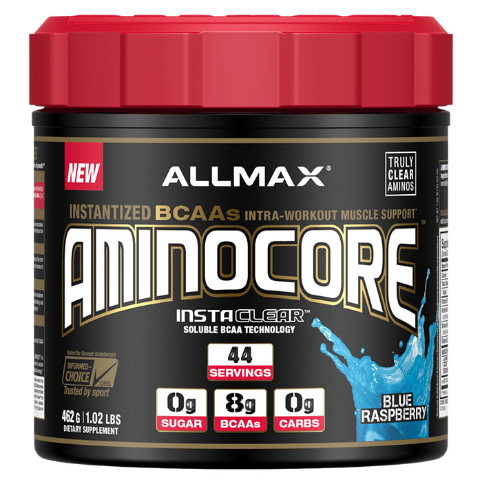 Image of Allmax Nutrition Aminocore 44 Servings Blue Raspberry