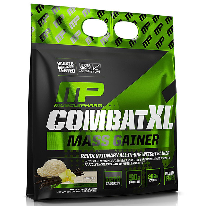 Combat XL Mass Gainer 5.44kg Vanilla