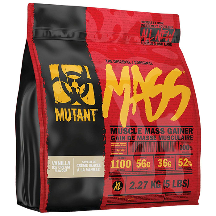 Mutant Mass 5lb (2.27kg) Vanilla Ice Cream