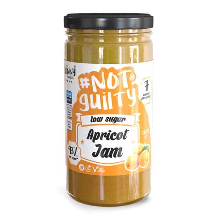 Image of The Skinny Food Co NotGuilty Low Sugar Apricot Jam 260g