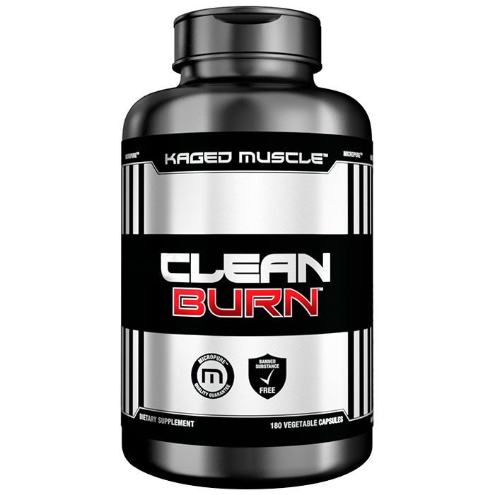 Image of Kaged Muscle Clean Burn 180 Capsules