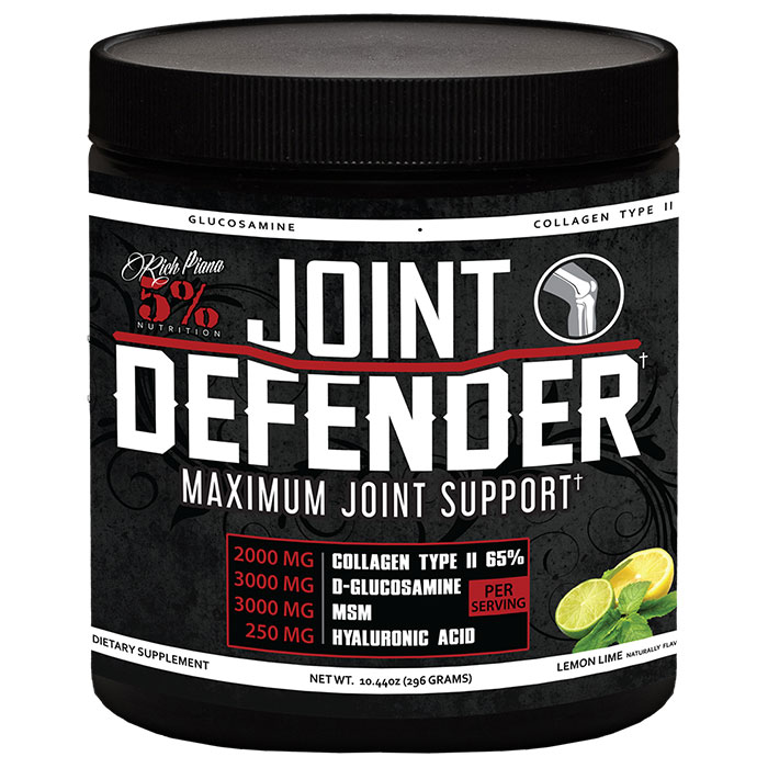 Image of 5% Rich Piana Joint Defender 20 Servings Strawberry Lemonade