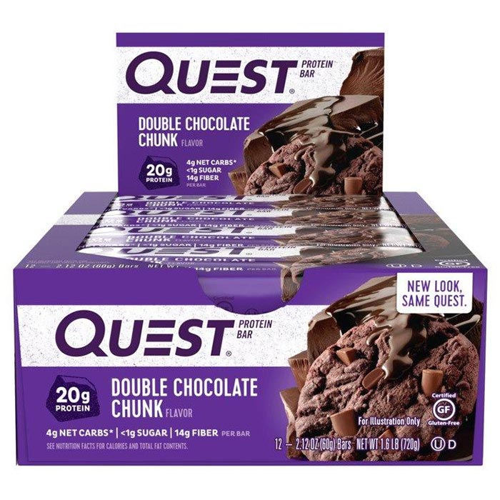 Quest Bars 12 Bars - Double Chocolate Chunk