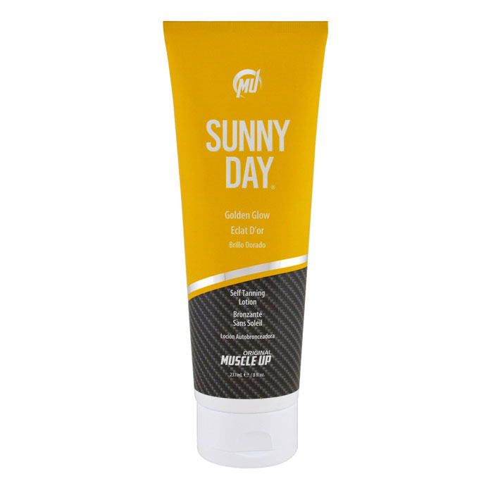 Image of Muscle Up Pro Tan Sunny Day 237ml