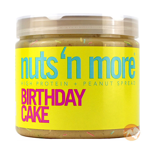 Image of Nuts'n more Nuts n More Peanut Butter 454g Birthday Cake