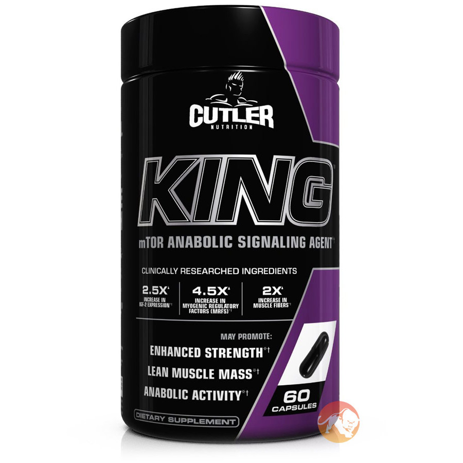 Image of Cutler Nutrition Cutler King 60 Caps