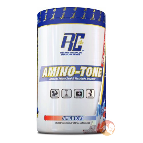 Image of Ronnie Coleman SignatureSeries Amino-Tone 30 Servings Blue Raspberry