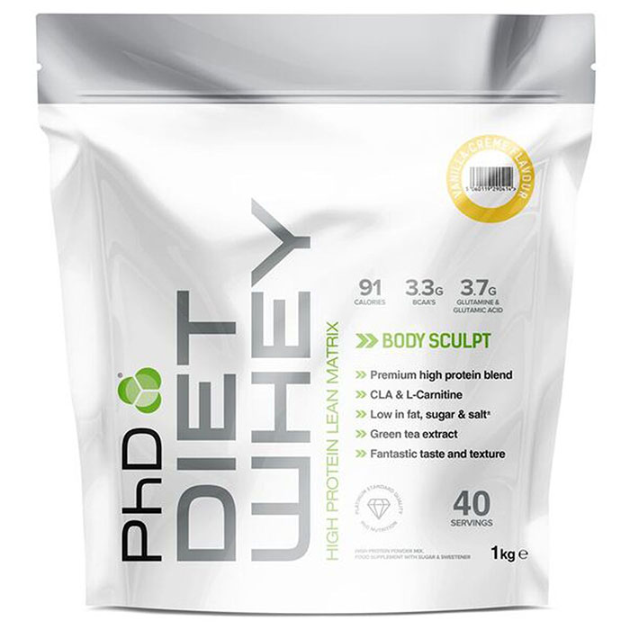 Image of PHD Nutrition Diet Whey 1kg - Banana
