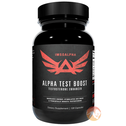 Image of IMSOALPHA Alpha Test Boost 120 Capsules