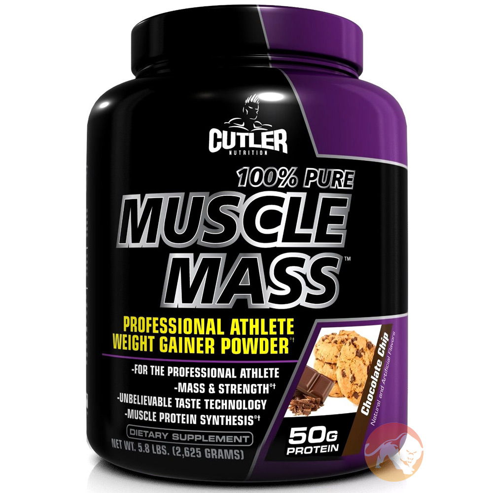 Image of Cutler Nutrition Cutler Pure Muscle Mass 5lb - Chocolate Chip