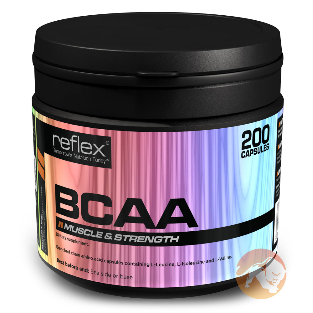 Image of Reflex BCAA 200 Caps