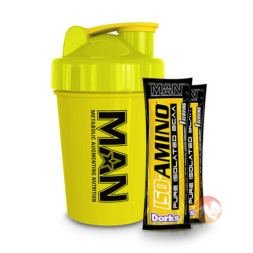 MAN Sports Shaker and Samples