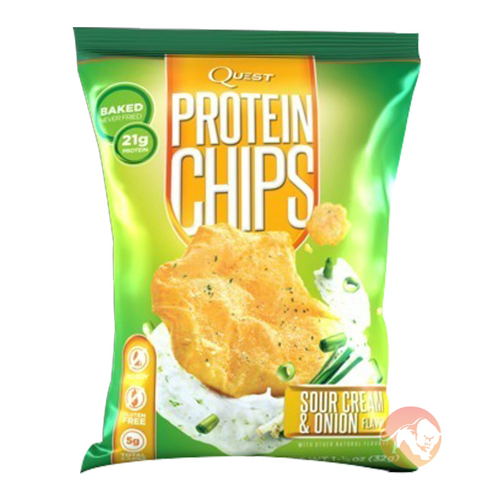 Quest Protein Chips 1 Pack-Sour Cream & Onion