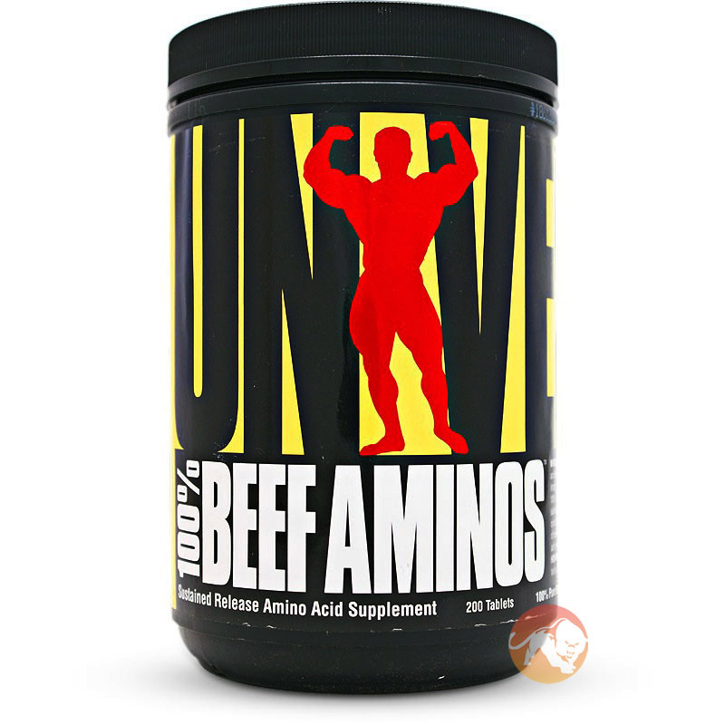Image of Universal Nutrition 100% Beef Aminos 400 Tabs