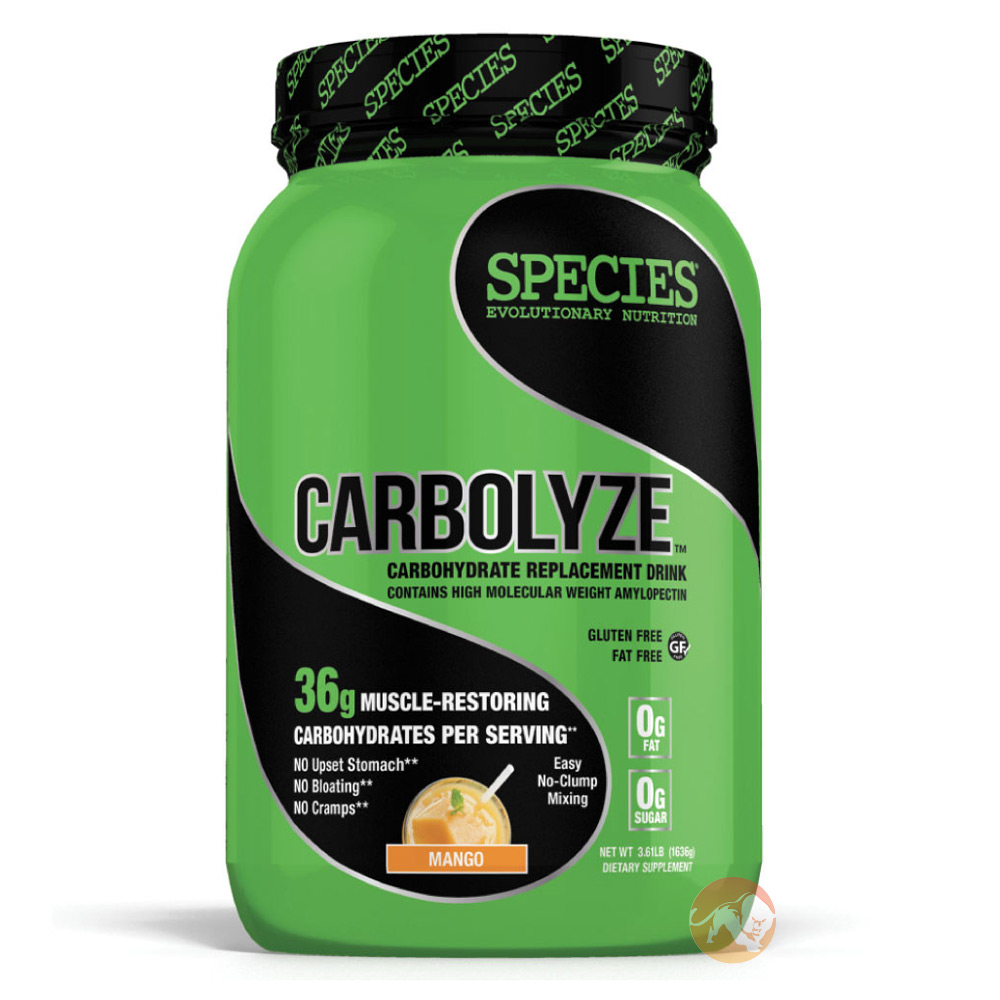 Image of Species Nutrition Carbolyze 40 serv - Banana