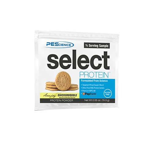 Select Protein Half Servings Snickerdoodle