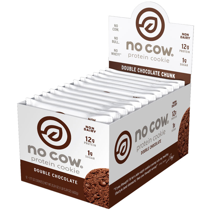 No Cow Cookie 12 Cookies Double Chocolate Chunk