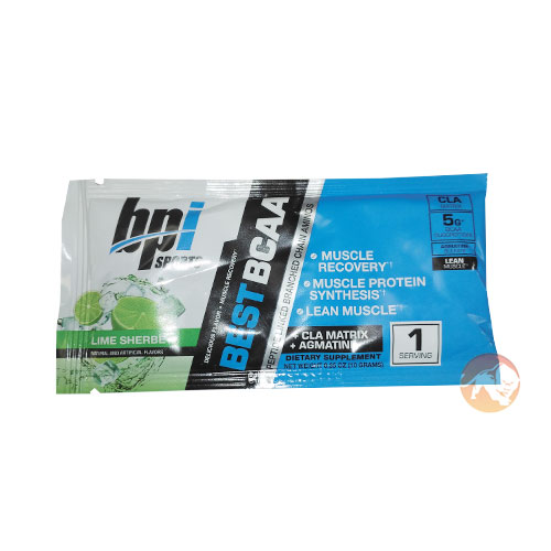 Image of BPI Sports BPI Best BCAA Trial Serving Lime Sherbert