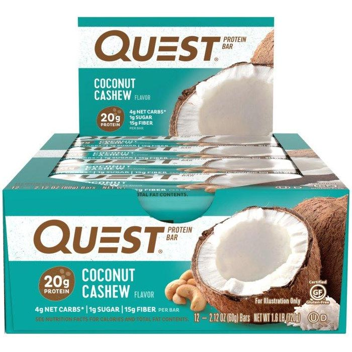 Image of Quest Nutrition Quest Bars 12 Bars Coconut Cashew