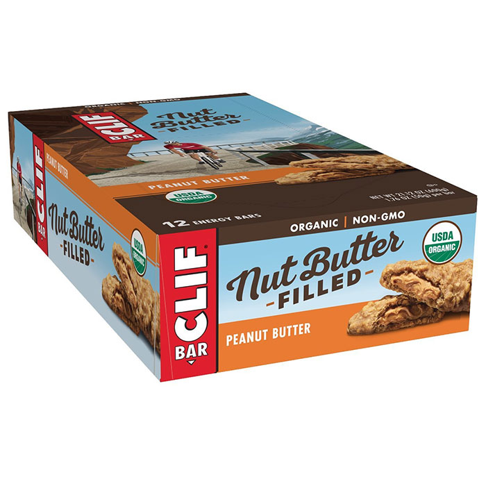 Image of Clif Bar Clif Nut Butter Filled Bar 12 Bars Chocolate Peanut Butter