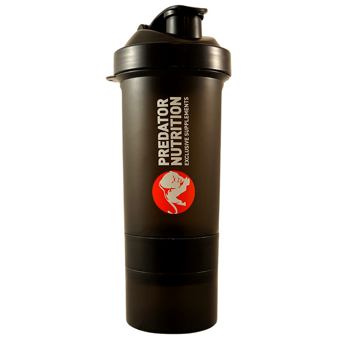 Predator Genius Shaker 600ml Black