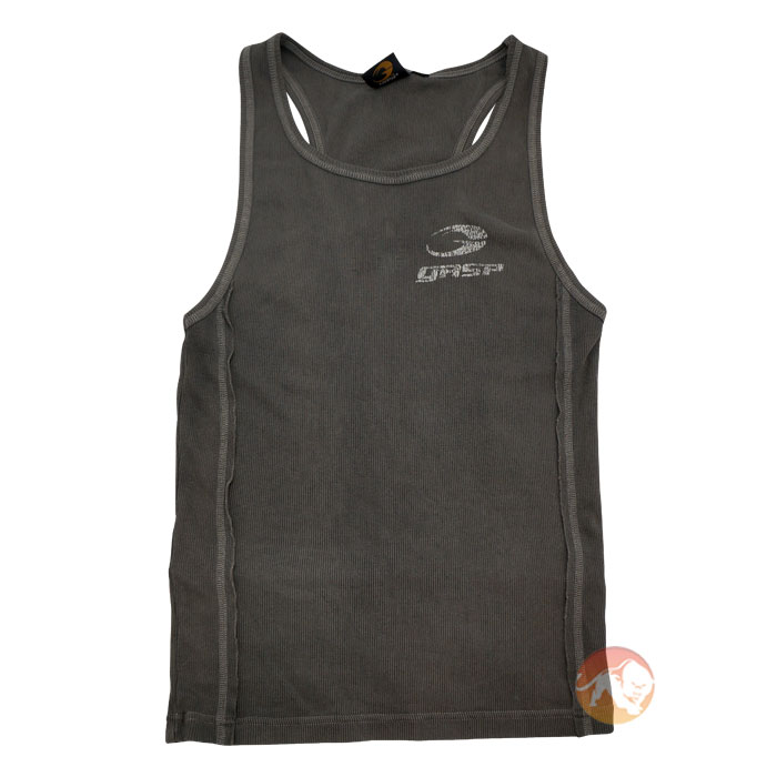 Image of GASP Clothing Army Rib Tank Grey/L