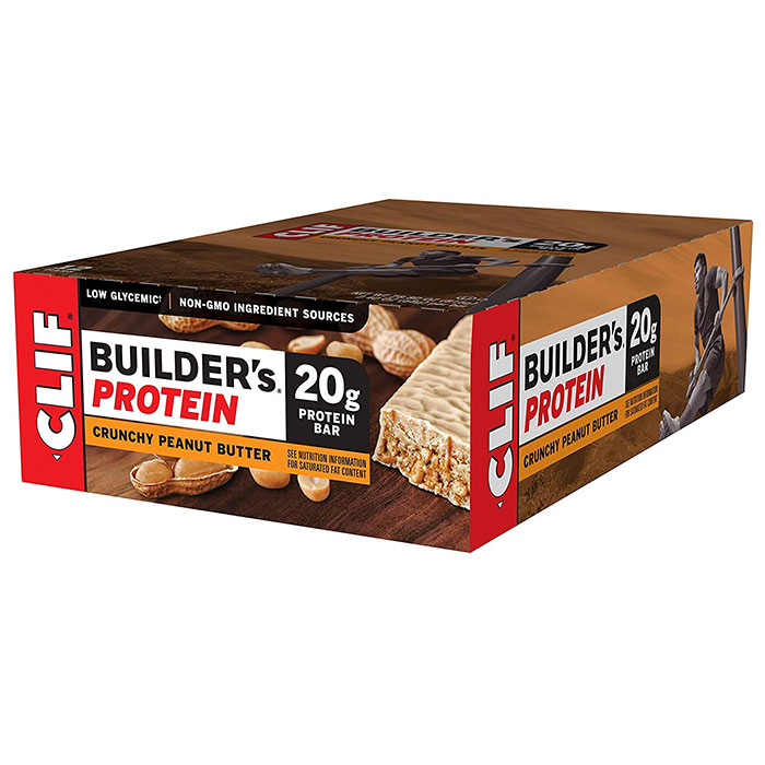 Image of Clif Bar Builder's Bar 12 Bars Crunchy Peanut Butter